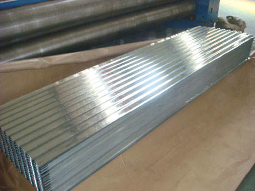 FULL HARD / SGCC or AS 1397 G550 Galvanized Corrugated Roof Sheets, Roofing Sheet