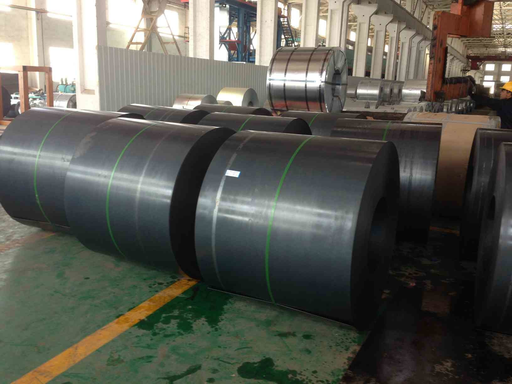 Continuous Black Annealed or Batch annealing Q195, SPCC, SAE 1006 Cold Rolled Steel Coils