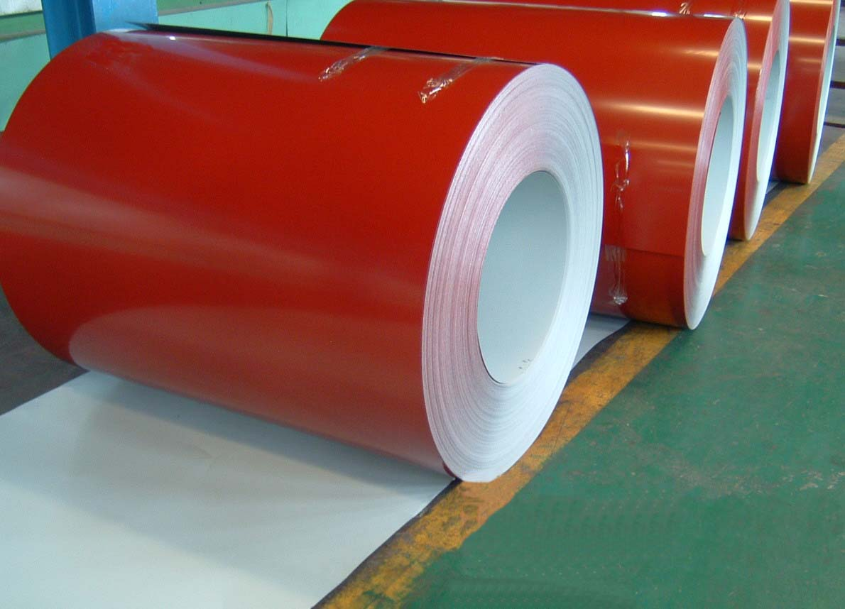 white, blue or customized JIS, CGCC Soft Prepainted Color Steel Coils / Coil (PPGI / PPGL)
